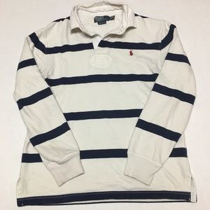 Vintage polo ralph lauren rugby long sleeve shirt